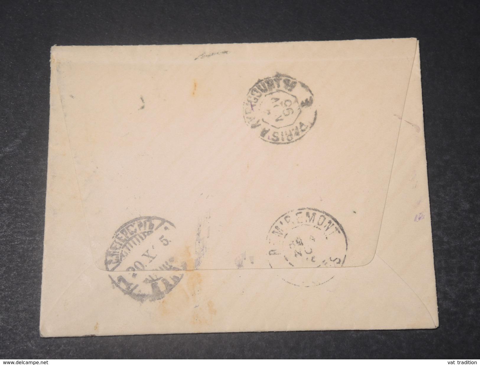 RUSSIE - Enveloppe En Recommandé De Saint Petersbourg Pour La France En 1895 - L 11369 - 1857-1916 Empire