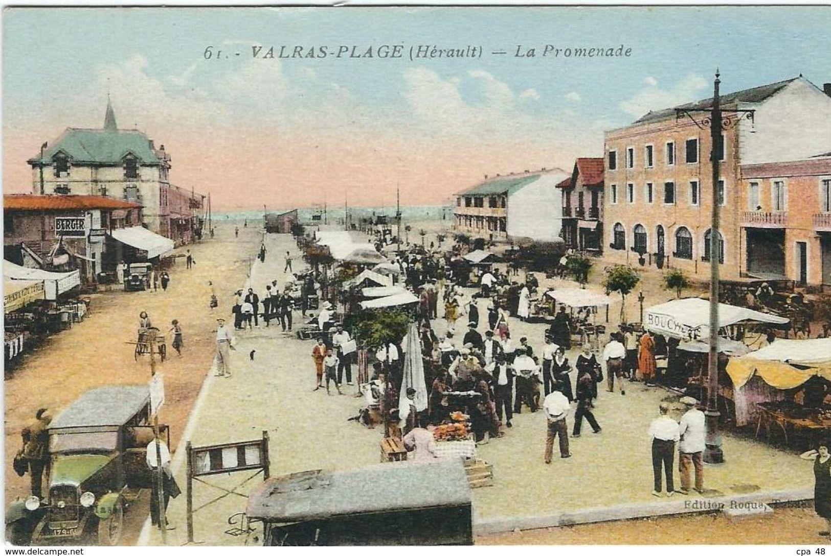 Herault, Valras-Plage, La Promenade - Other Municipalities