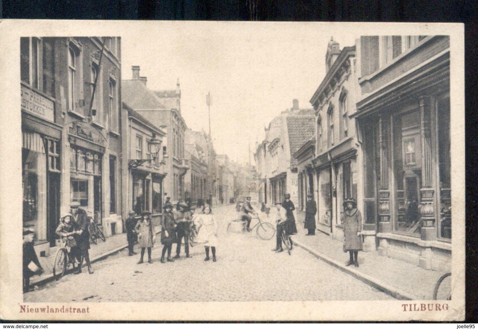 Tilburg - Nieuwlandstraat - 1920 - Tilburg