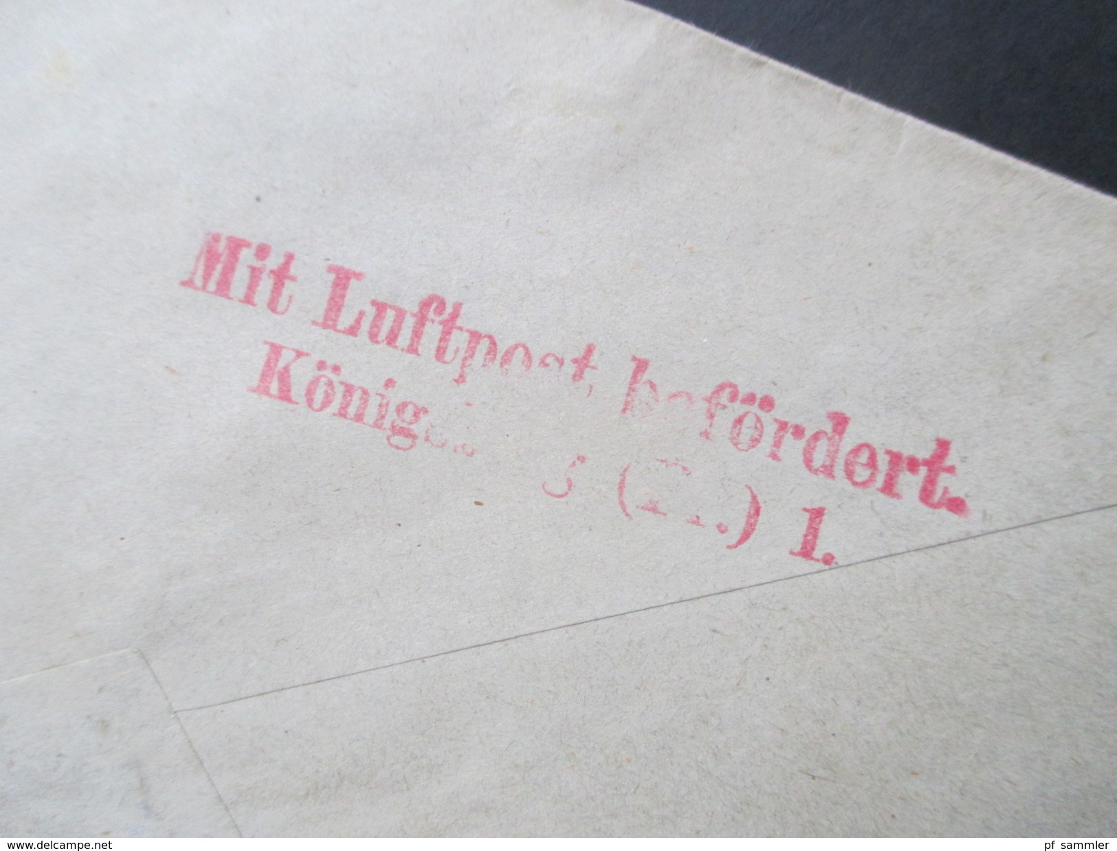 Lettland 1921 Flugpost MiF Nr. 31 Und 76. Rigas Dselsszela St. Latwija. Toller Beleg!! Mit Luftpst Befördert Königsberg - Lettland