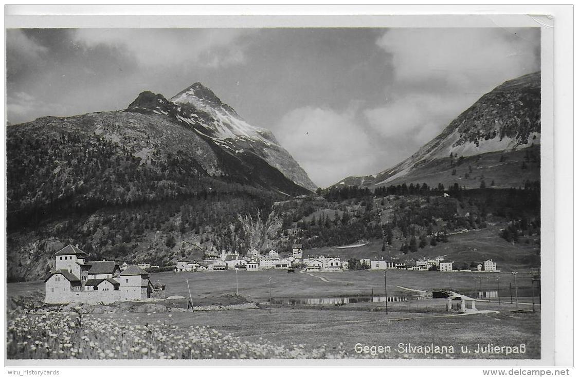 AK 0817   Silvaplana Und Julierpaß - Verlag Siegle Um 1930-40 - GR Graubünden
