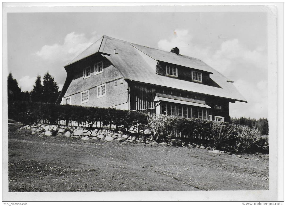 AK 0818  Evangelisches Ferienheim Falkau ( Altglashütten ) - Verlag Manias & Cie Ca. Um 1950 - Feldberg