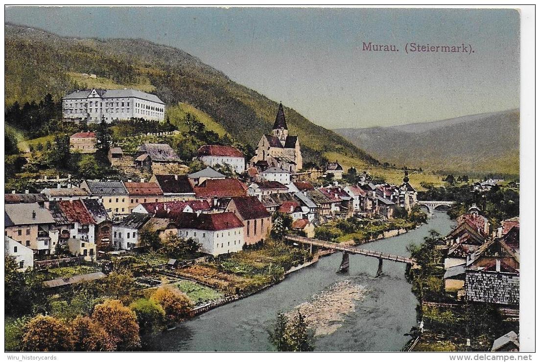 AK 0819  Murau - Verlag Liebenwein Um 1916 - Sonstige