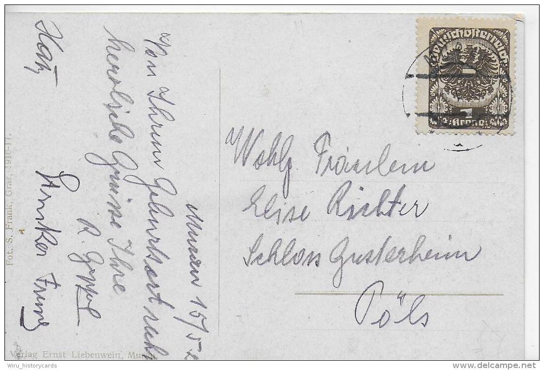 AK 0819  Murau - Verlag Liebenwein Um 1916 - Österreich