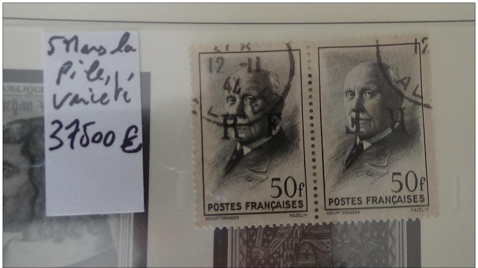 Collection France ** Années 60 Et Autres Dont Bonnes Valeurs. Voir Commentaires !!! - Timbres