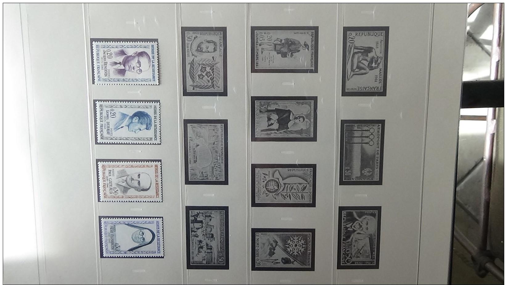 Collection France ** Années 60 Et Autres Dont Bonnes Valeurs. Voir Commentaires !!! - Stamps