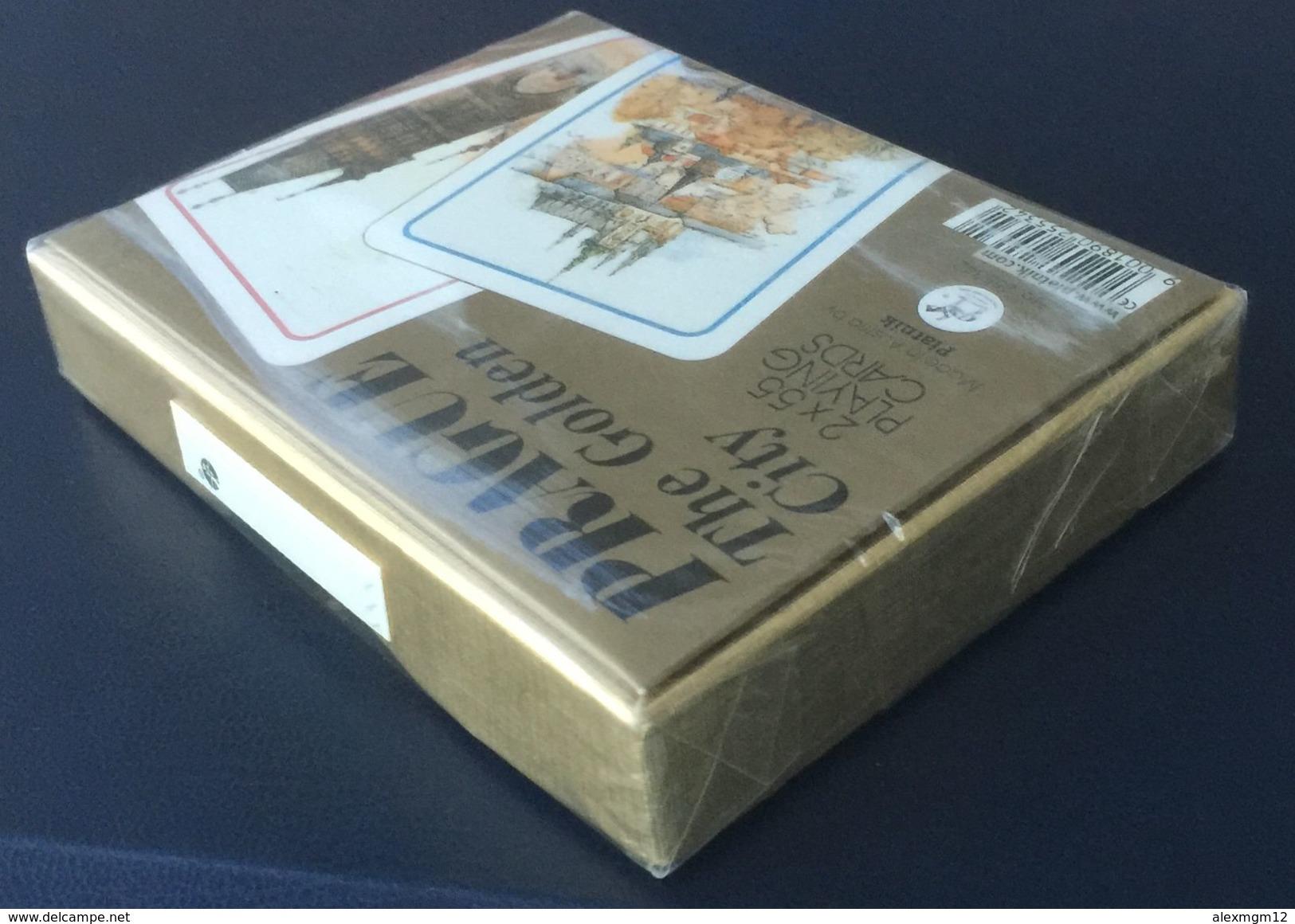 Prague The Golden City Playing Cards, Piatnik, Austria, New, Sealed, 2 Decks - Playing Cards (classic)