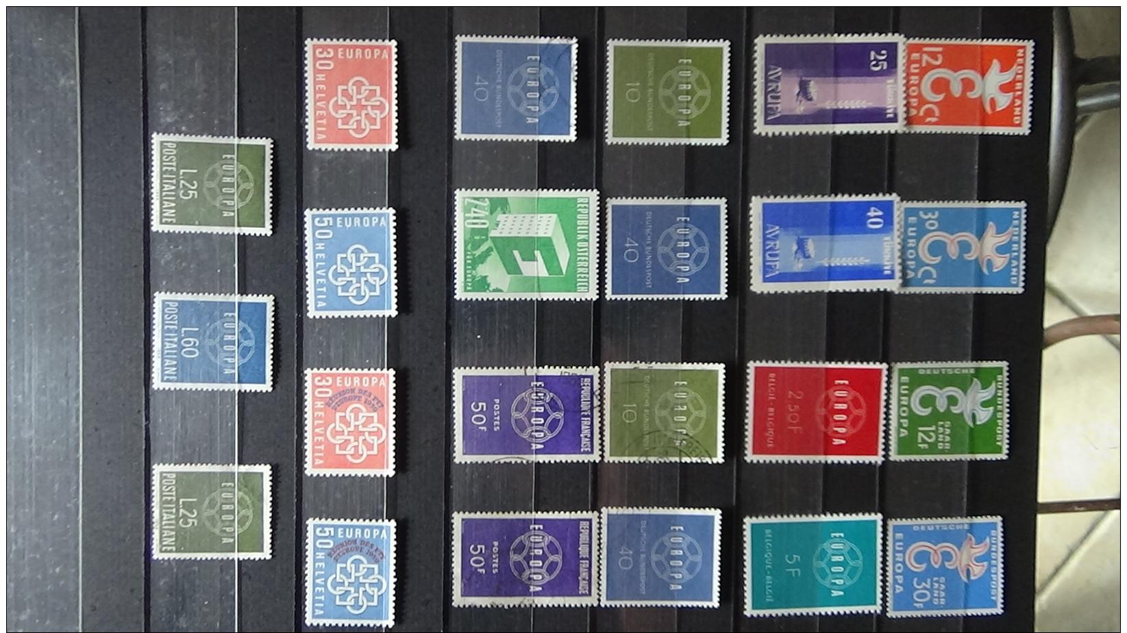 Album De Timbres Tous ** (qqs Obl) EUROPA Dont Grosses Valeurs. Voir Commentaires !!! - Stamps