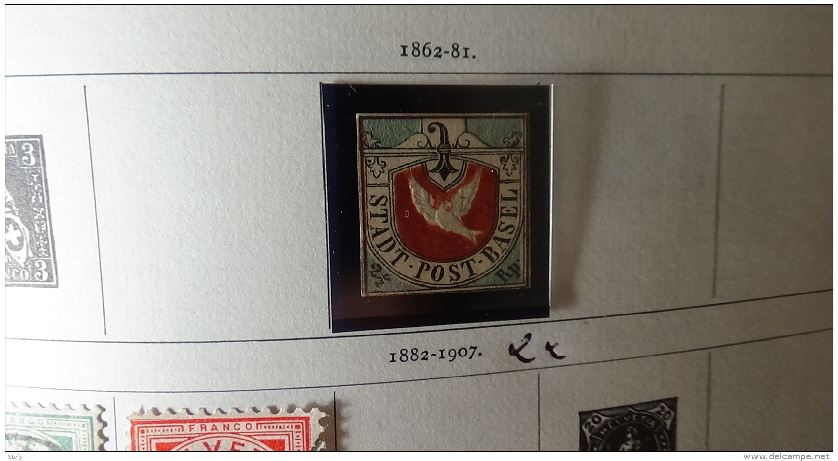 Album De 1ers  Timbres Oblitérés Du Monde (qqs **) Voir Commentaires !!! - Stamps