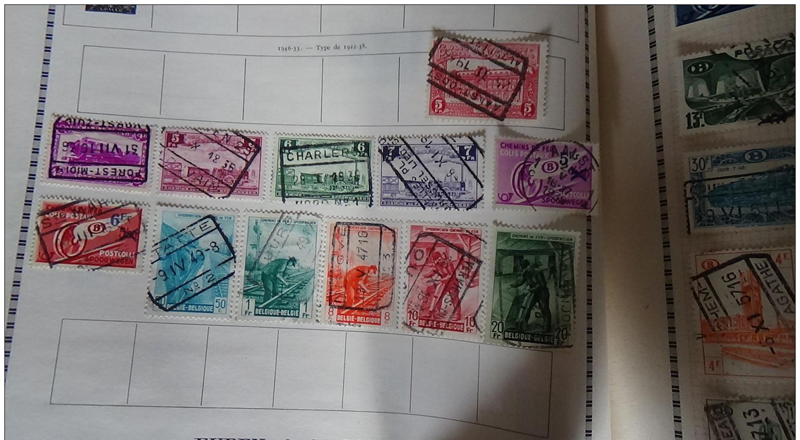 Album De 1ers  Timbres Oblitérés Du Monde (qqs **) Voir Commentaires !!! - Briefmarken