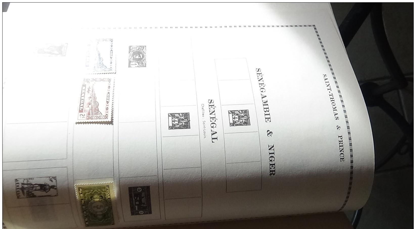 Album De 1ers Timbres Oblitérés Du Monde + Colonies Françaises Voir Commentaires !!! - Briefmarken