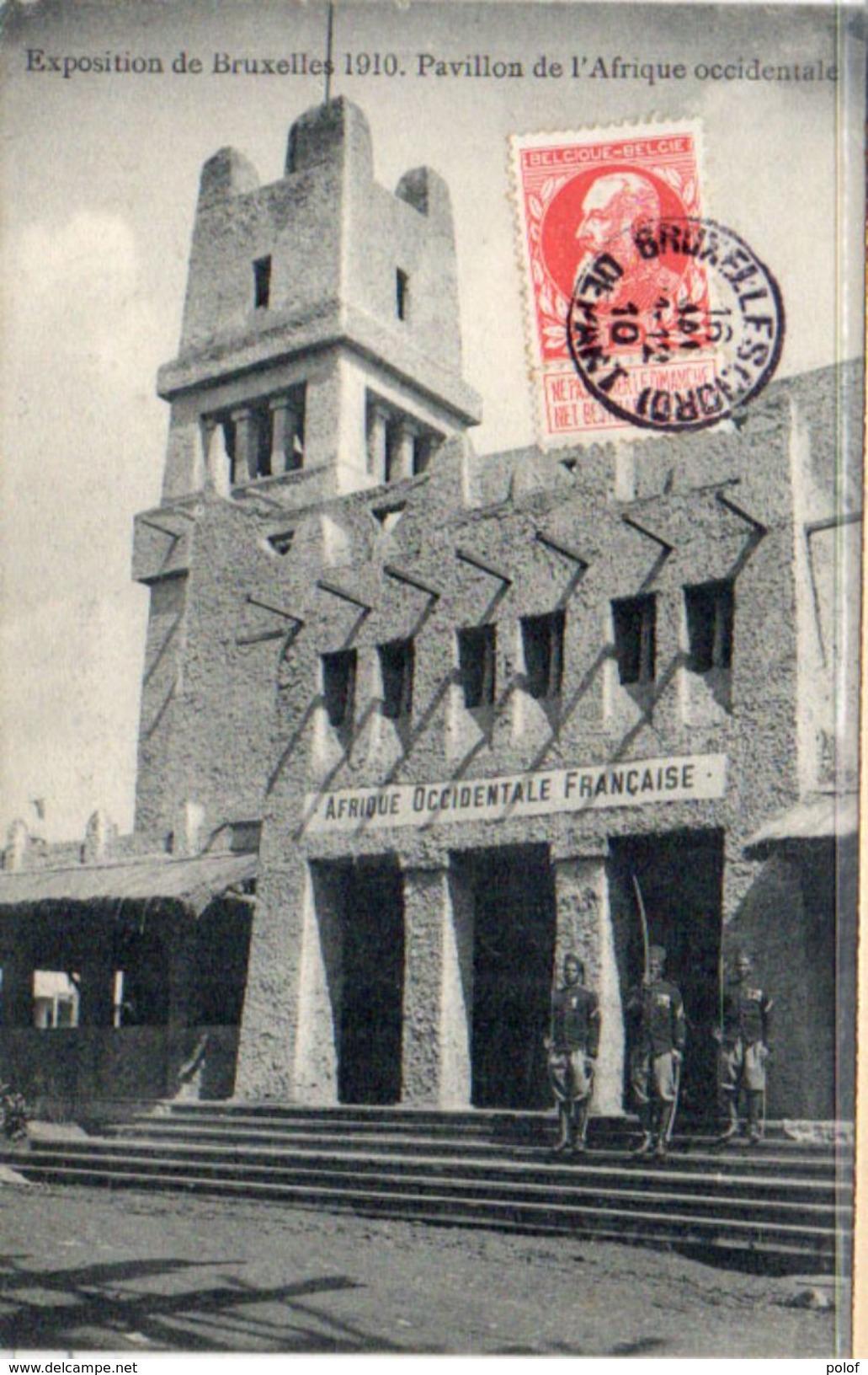 Exposition De BRUXELLES 1910 - Pavillon De L' Afrique Occidentale    (101386) - Universal Exhibitions