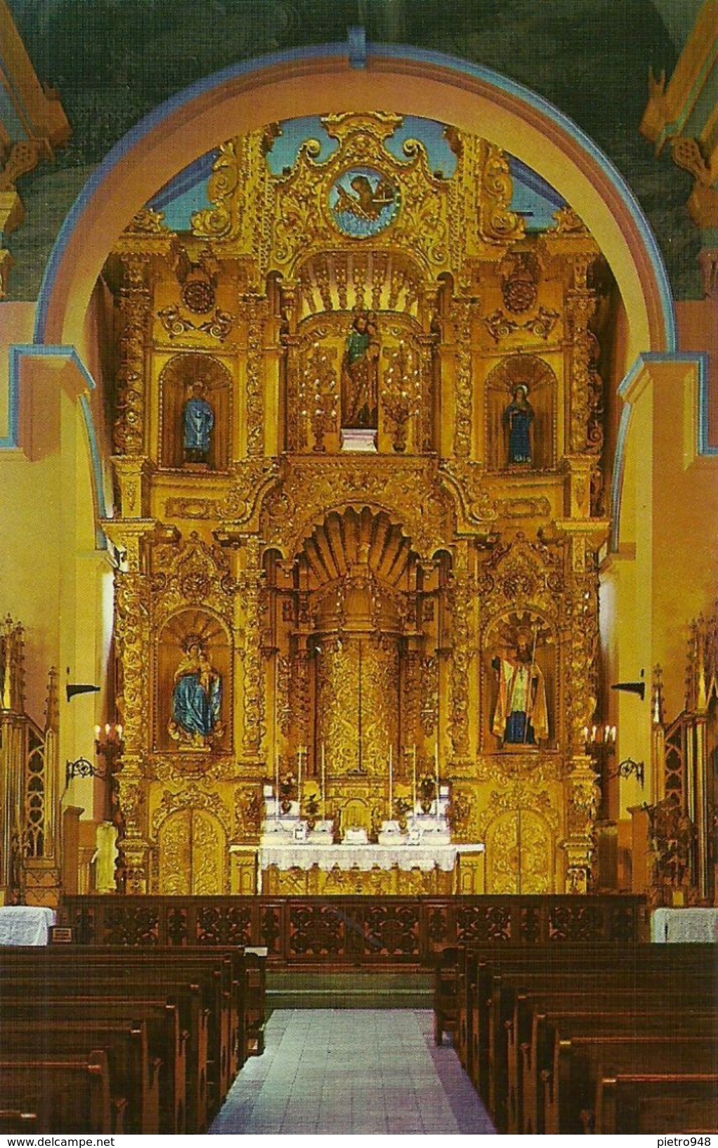 Republica De Panama, Panama, Iglesia De San José, El Altar De Oro - The Church Of San José, The Golden Altar - Panama