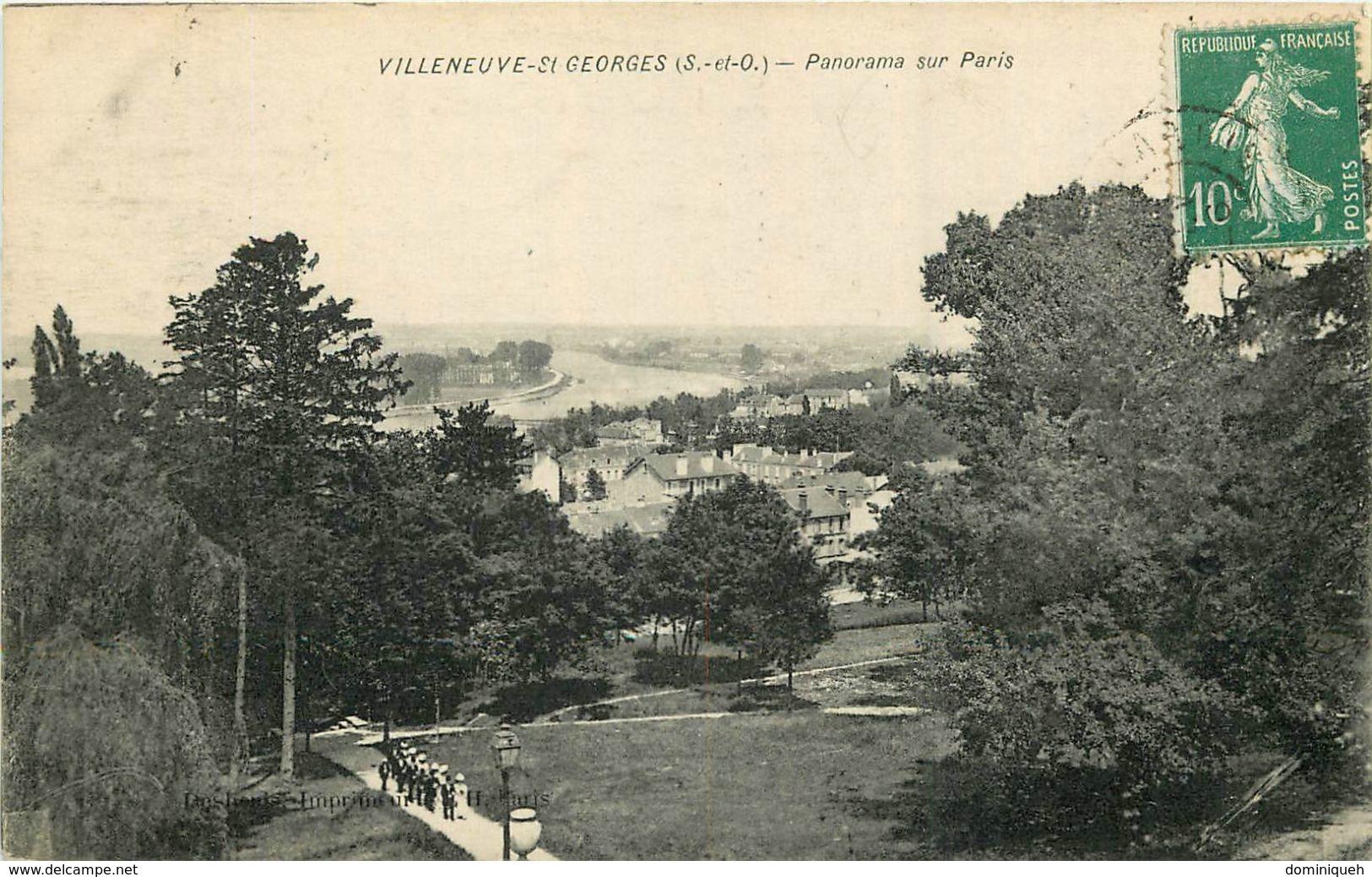 Lot De 50 CPA De Villeneuve-Saint-Georges 94 Plusieurs Animations - Ansichtskarten