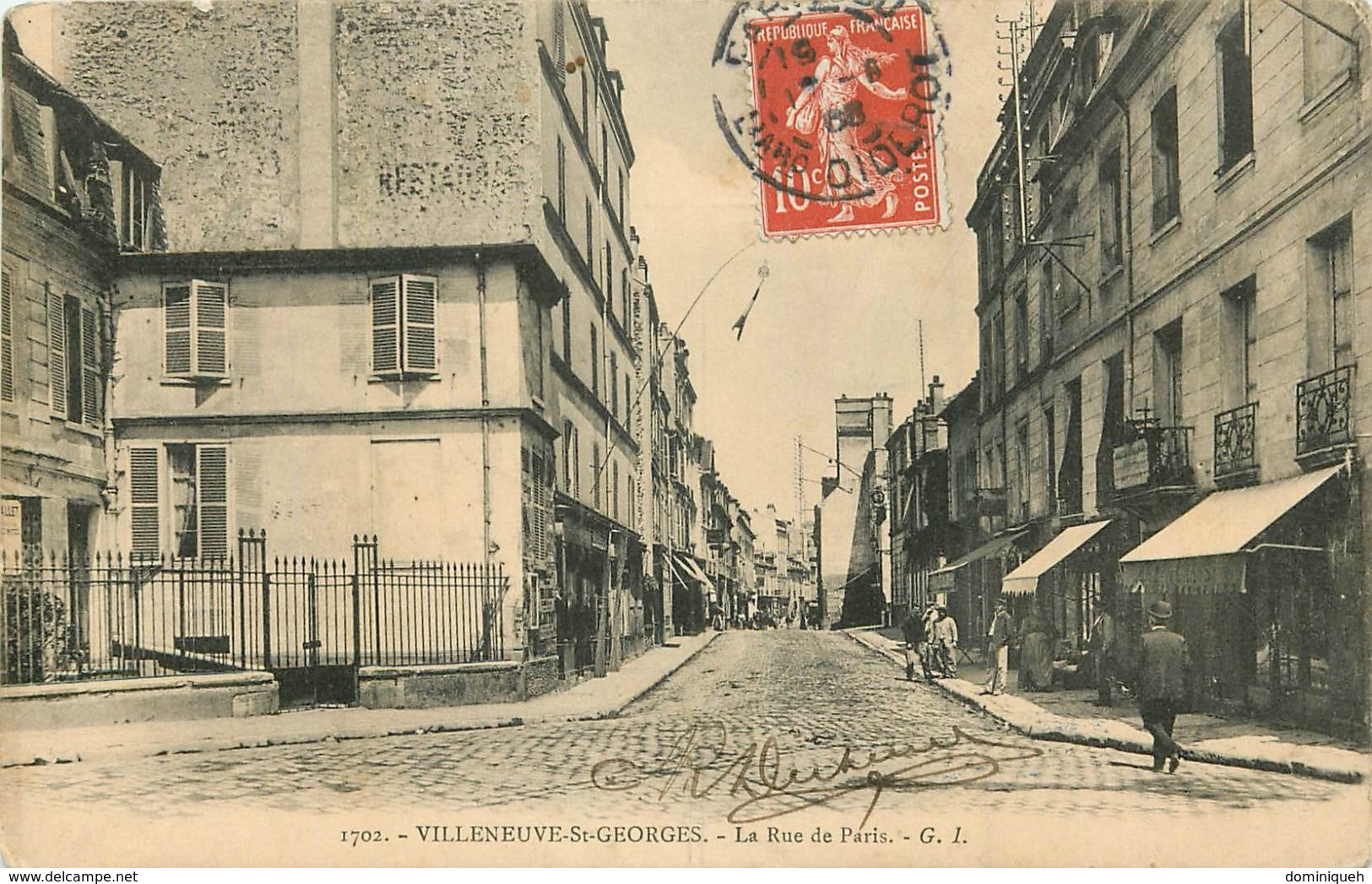 Lot De 50 CPA De Villeneuve-Saint-Georges 94 Plusieurs Animations - 5 - 99 Karten