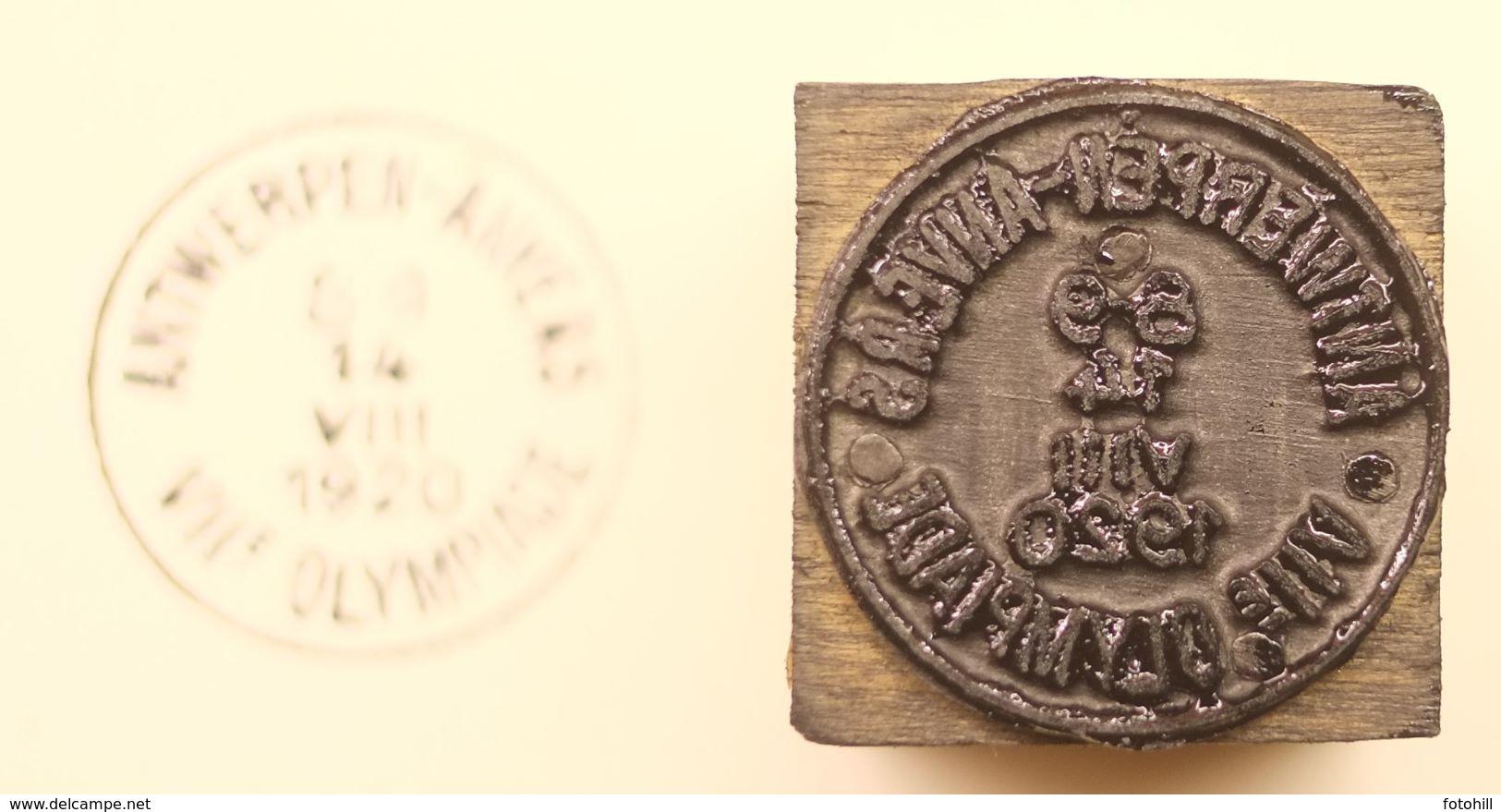 Poststempel Antwerpen+-Anvers VIIe Olympiade 1920. - Belgium