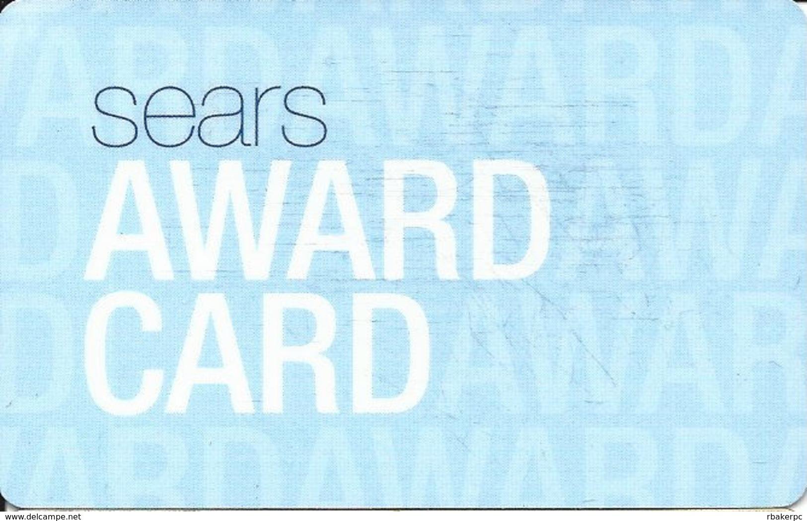 Sears Award Card - Gift Cards