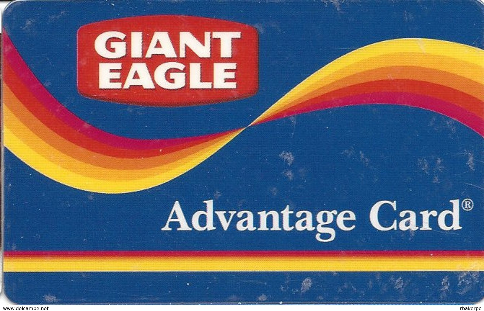 Giant Eagle Advantage Card - Customer Loyalty/Membership Card - Other Collections