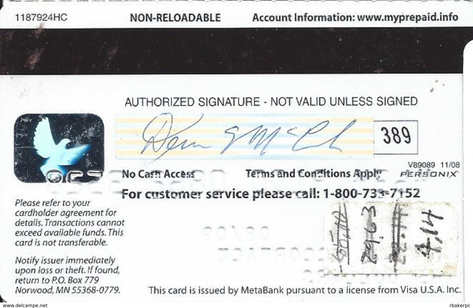 Lowe's Free Delivery Reward Card - Visa Debit Card - Gift Cards