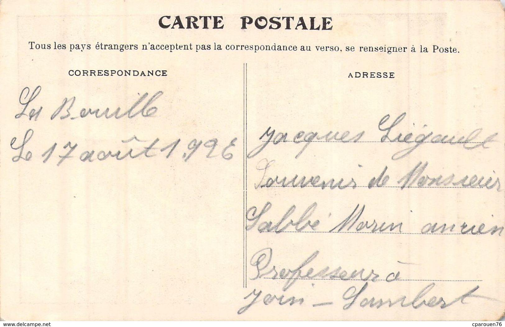 C P A   76] Seine Maritime > MONVILLE ESLETTES CARTE DU VOEUX A JEANNE D ARC CARTE DESSINEE - Francia