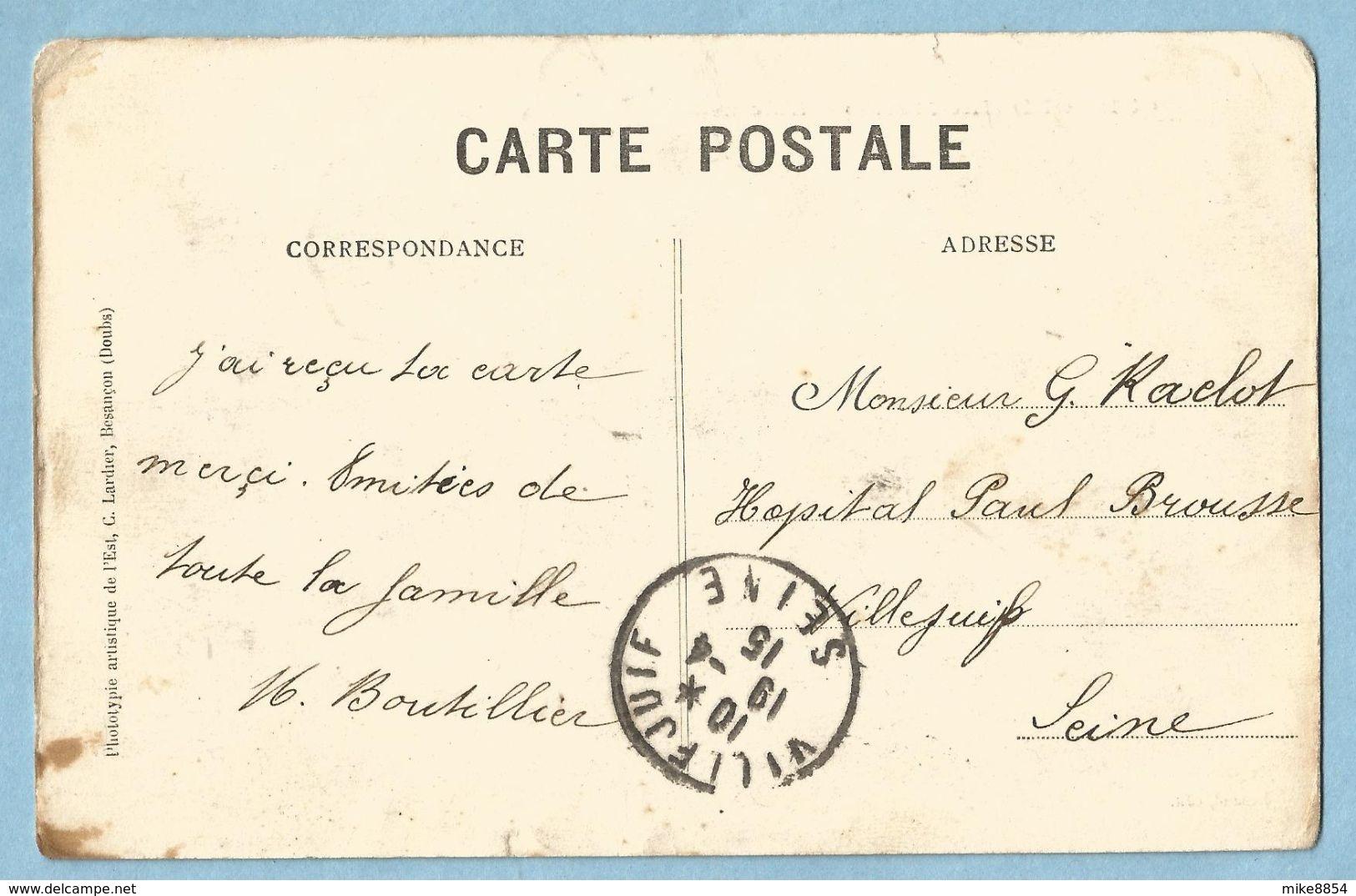 1035  CPA  GUDMOND  (Hte-Marne)  L'Ecluse   ++++++++ - Frankreich