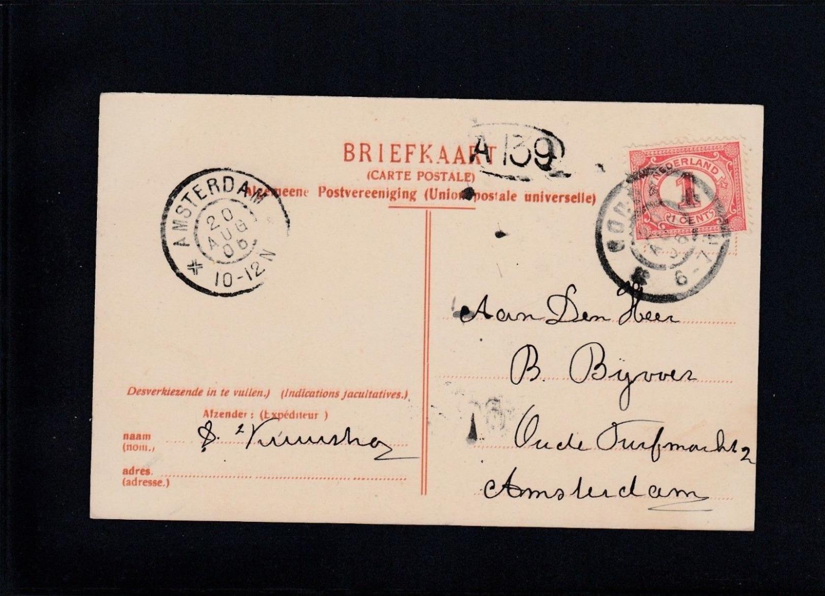 Gouda - Haven   1906 - Gouda