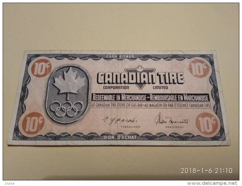 Canadian Tire 10 Cent - Canada