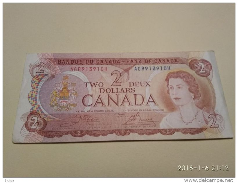 2 Dollars 1974 - Canada