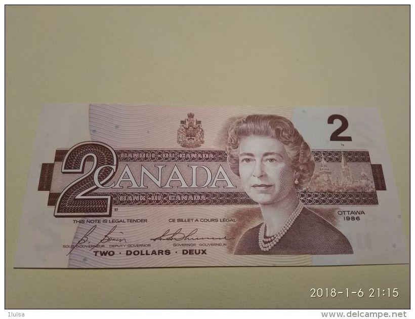 2 Dollars 1986 - Canada