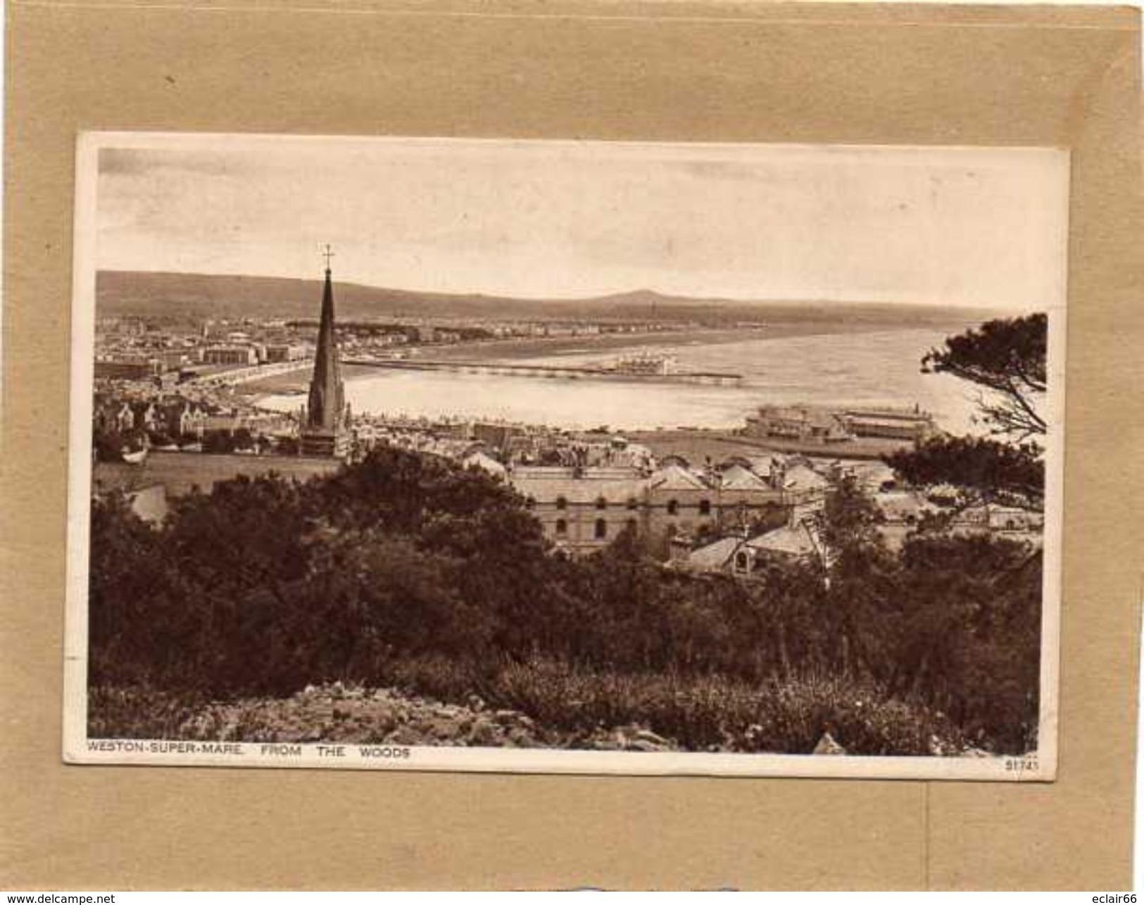 Weston-super-Mare  Ville Côtière Et Station Balnéaire Du Comté Du Somerset, Sud-ouest De L'Angleterre. CPA 1912 - Weston-Super-Mare