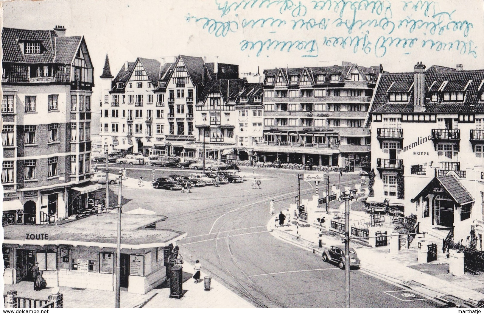 95 - Knokke-Zoute - Albertplaats - Place Albert - Knokke