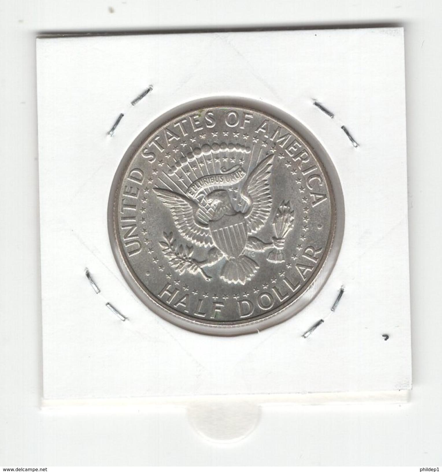 USA. Half Dollar, 1/2 $ 1968D (2). KM #202a. TTB - 1964-…: Kennedy
