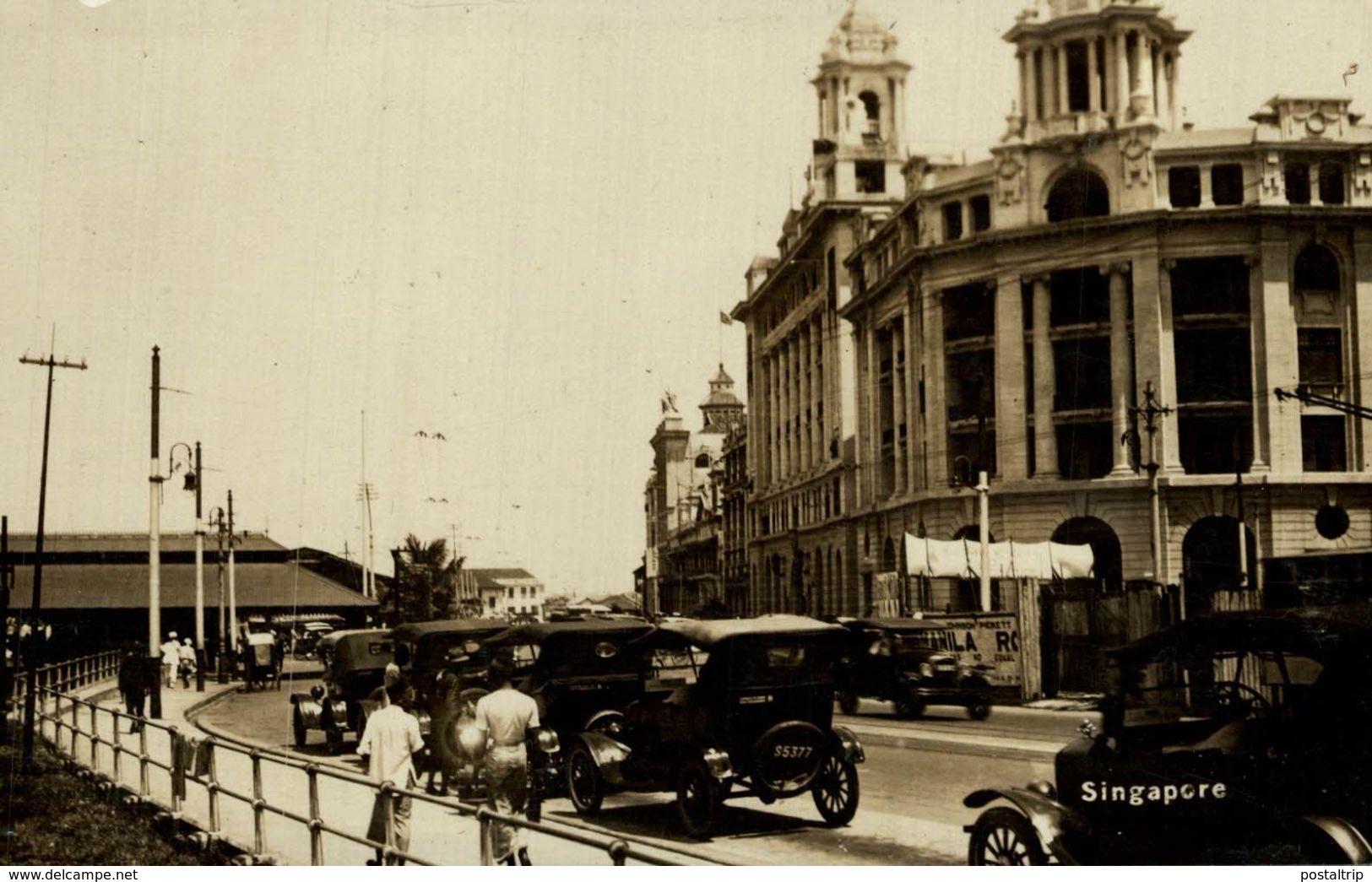 RPPC 1928  SINGAPORE SINGAPUR - Singapur