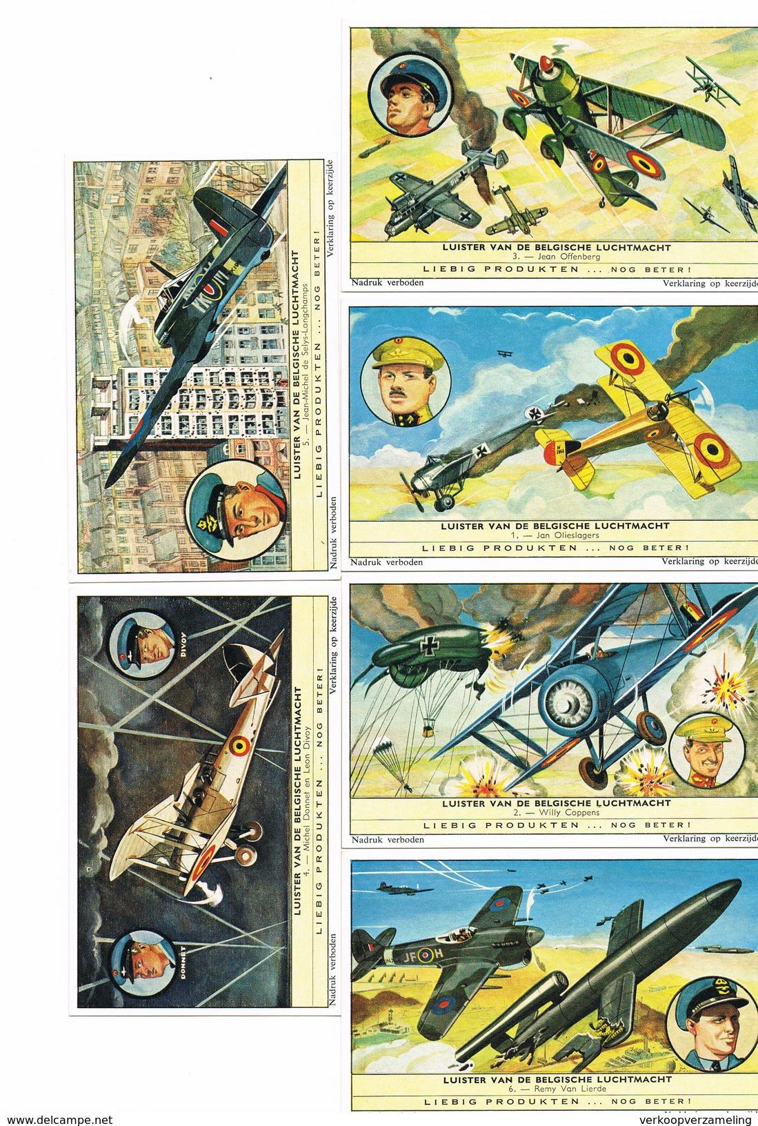 Colonies Et Aviation - Liebig