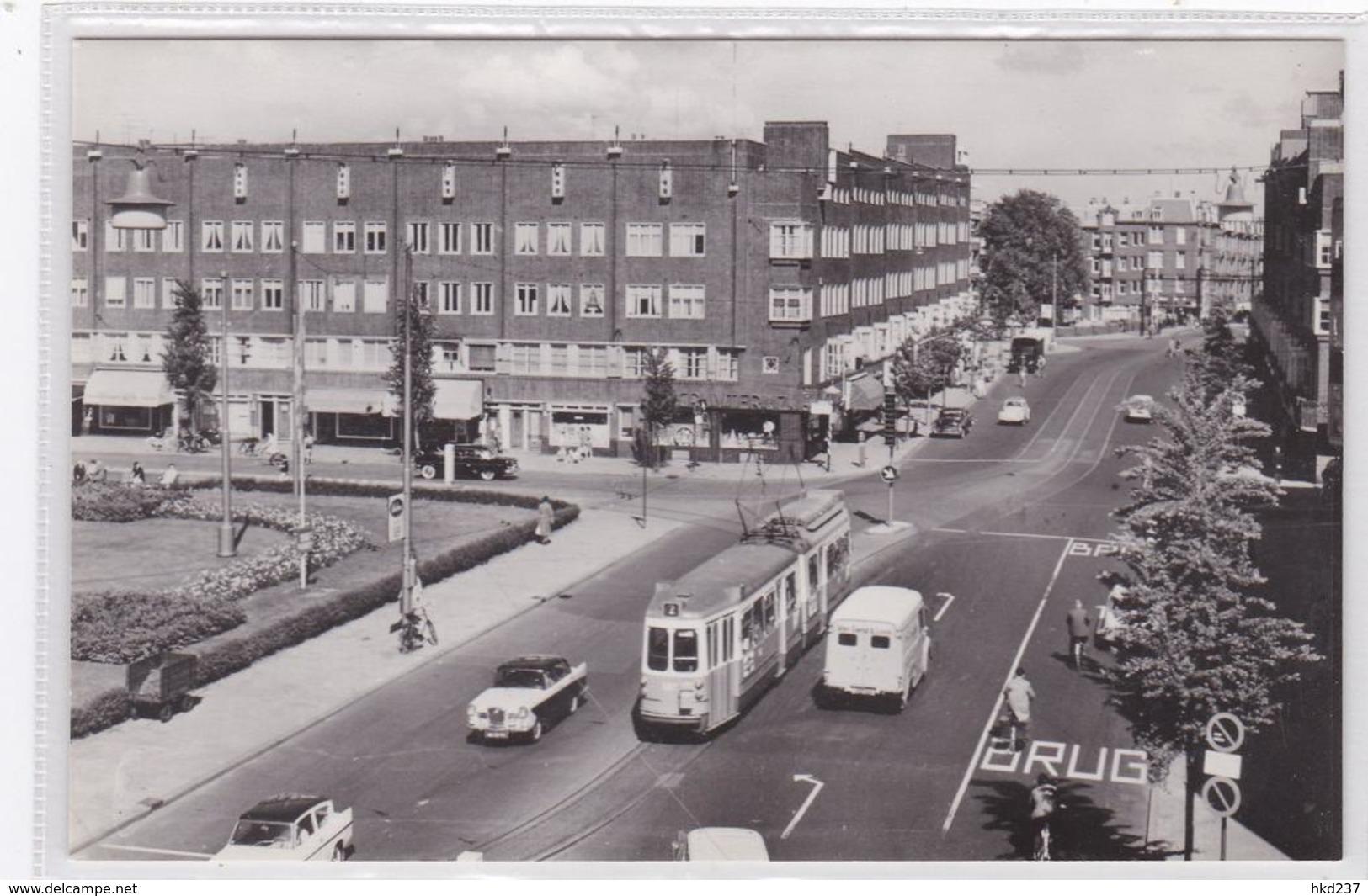 Amsterdam Hoofddorpplein Met Hoofddorpweg Tram (vracht)auto's    1369 - Amsterdam