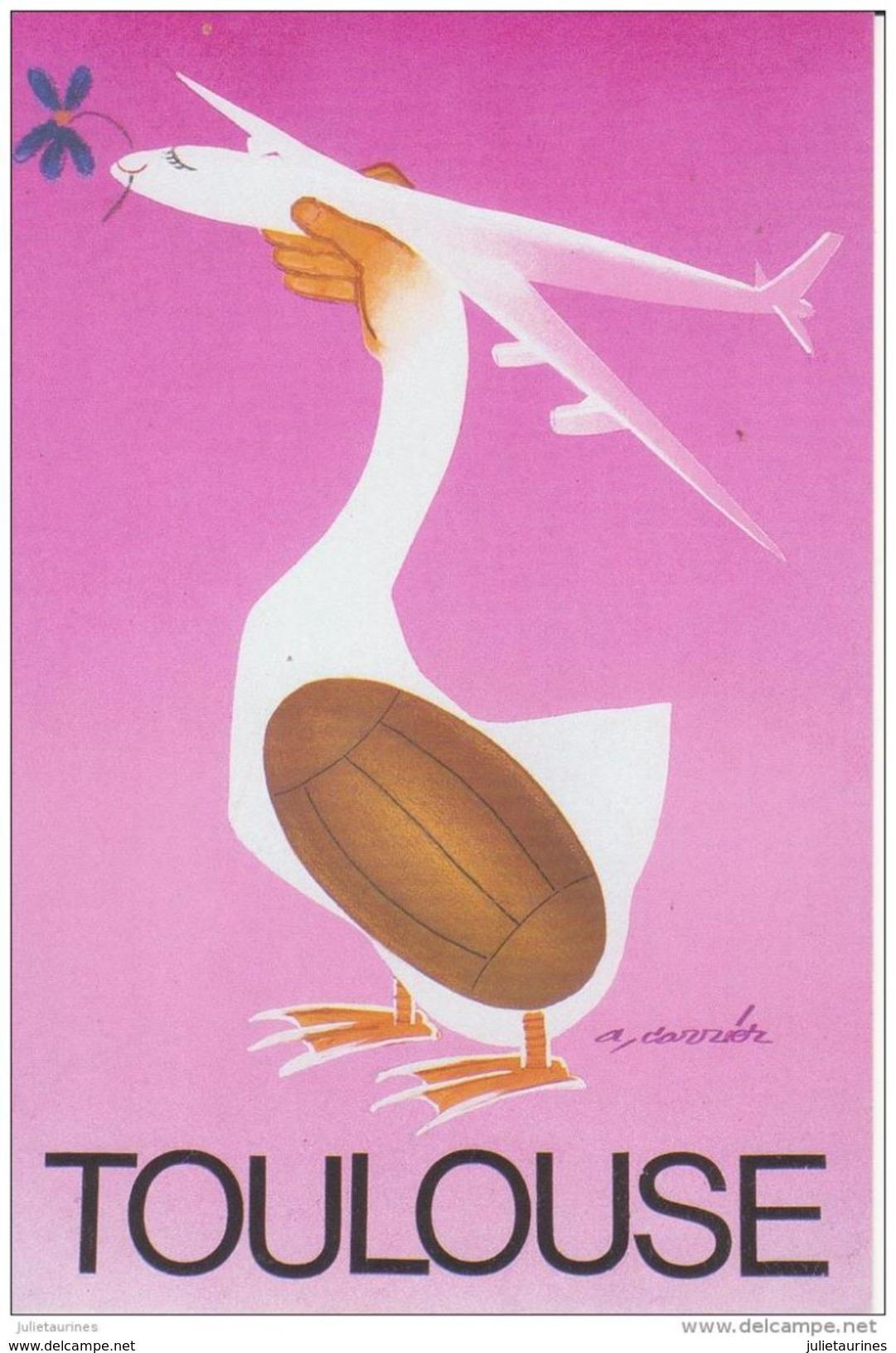 31 TOULOUSE PAR L'AFFICHE A.CARRIER 1993 CPA BON ETAT - Toulouse
