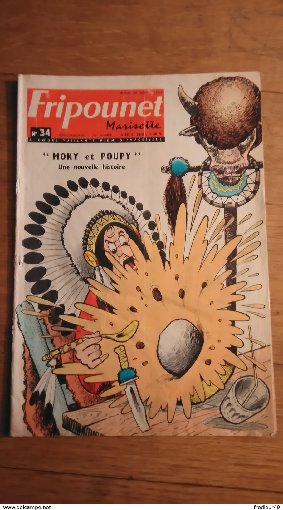 Fripounet Marisette N° 34 - 1964 - Fripounet