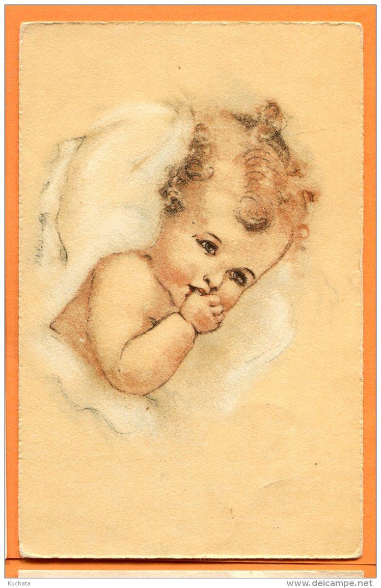 N283, Dessin , Bébé. Baby, édition Vouga & Cie No. 2, Circulée 1926 Sous Enveloppe - Neonati