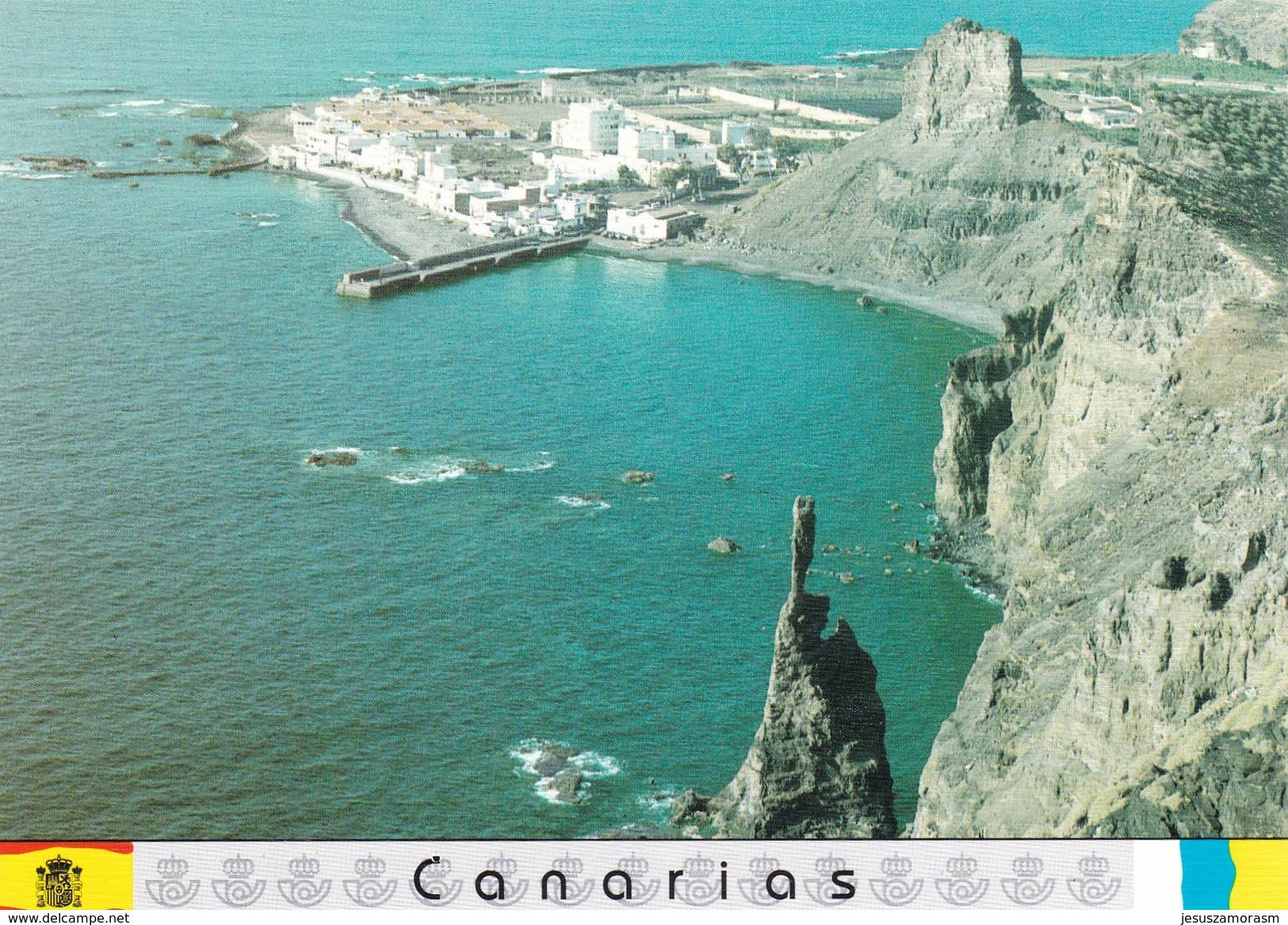 España Tarjetas De Correos Canarias Juego Completo Usadas - 1931-....