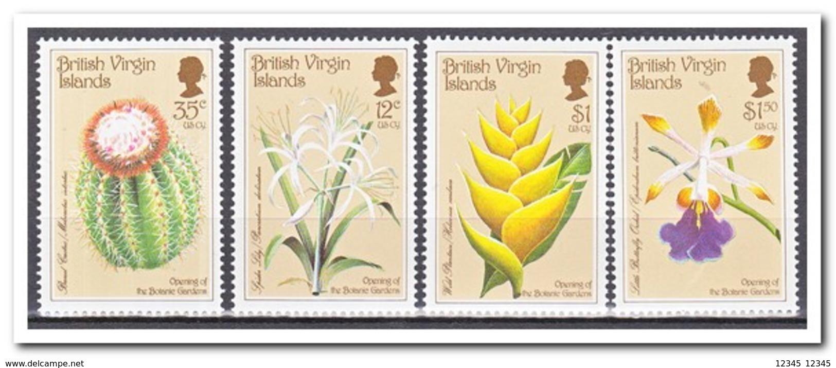 Britse Maagdeneilanden 1987, Postfris MNH, Cacti, Flowers - Britse Maagdeneilanden