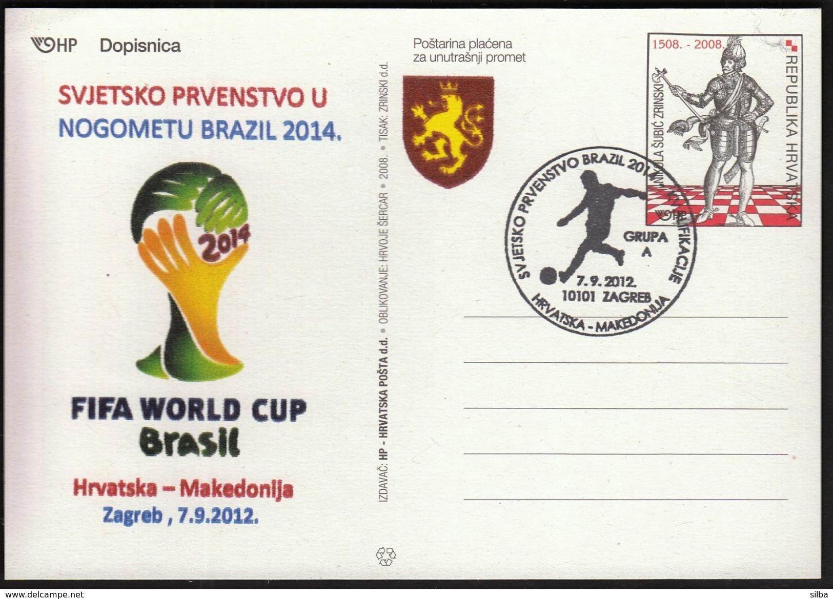 Croatia Zagreb 2012 / Soccer Football / World Championship Brazil 2014 / Qualifying Round Group A / Croatia - Macedonia - Wereldkampioenschap