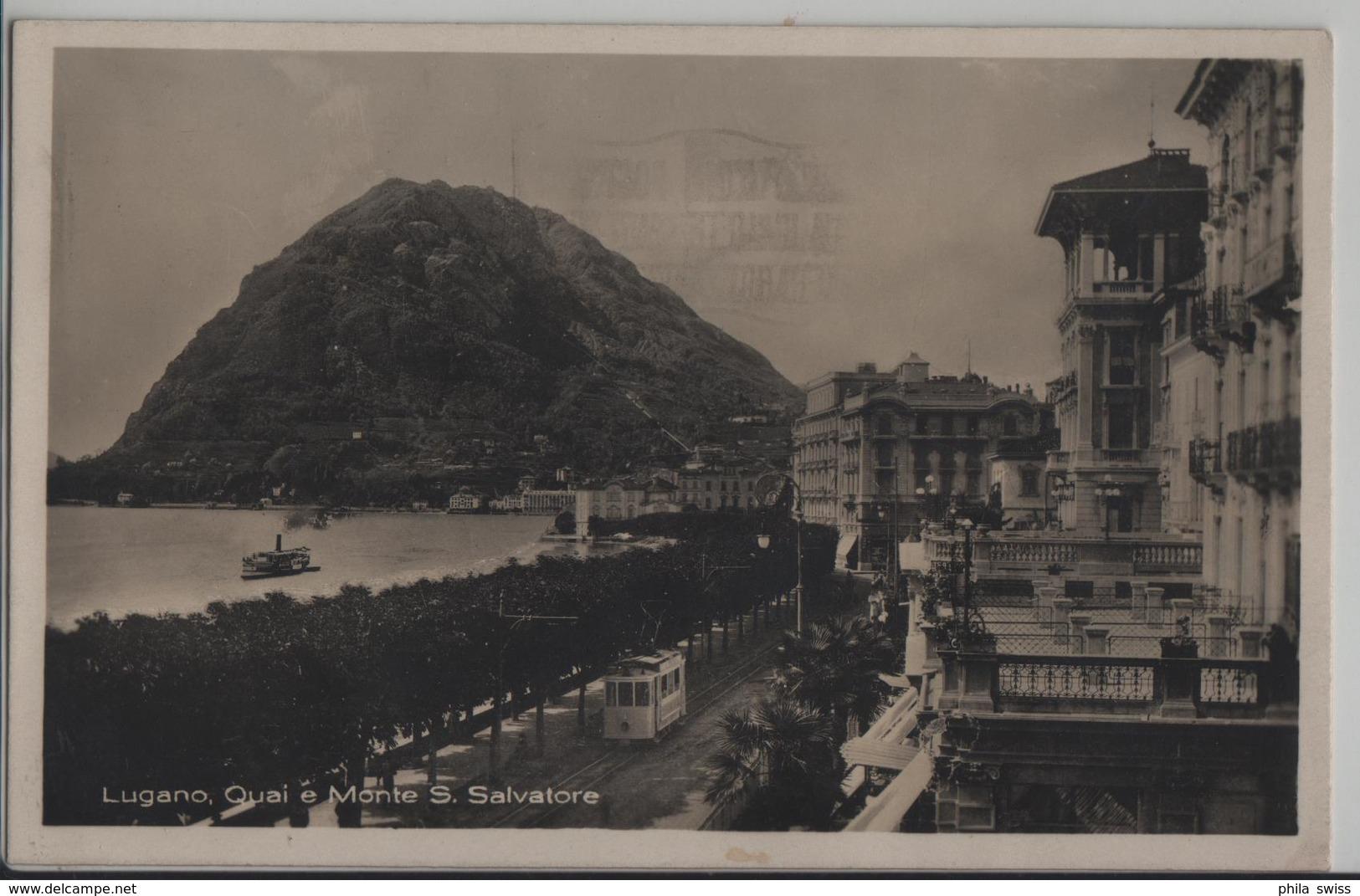 Lugano - Quai E Monte Bre - Photo: Guggenheim - TI Tessin
