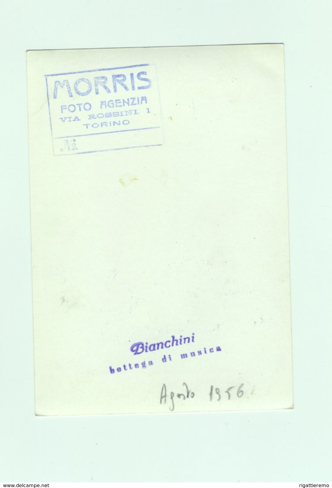 Cartolina FRANCO CORELLI Tenore Di Ancona - Cantanti E Musicisti