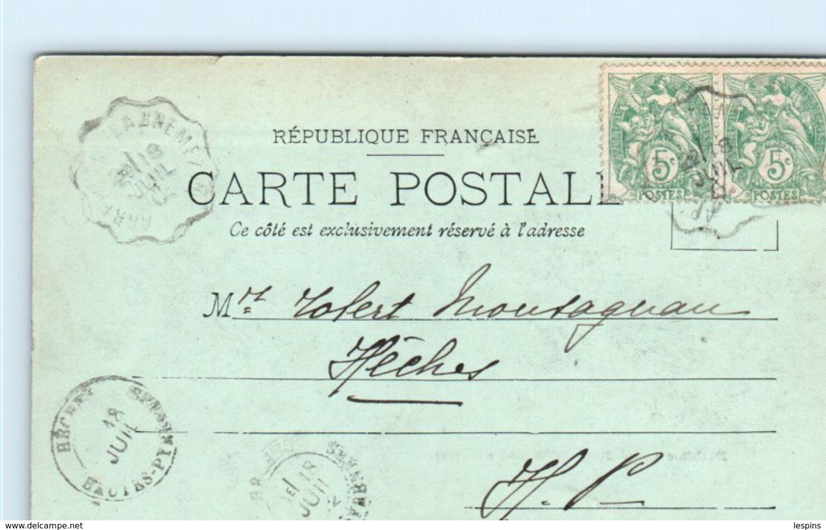 65 - CADEAC Les BAINS --  Etablissement Fisse - France