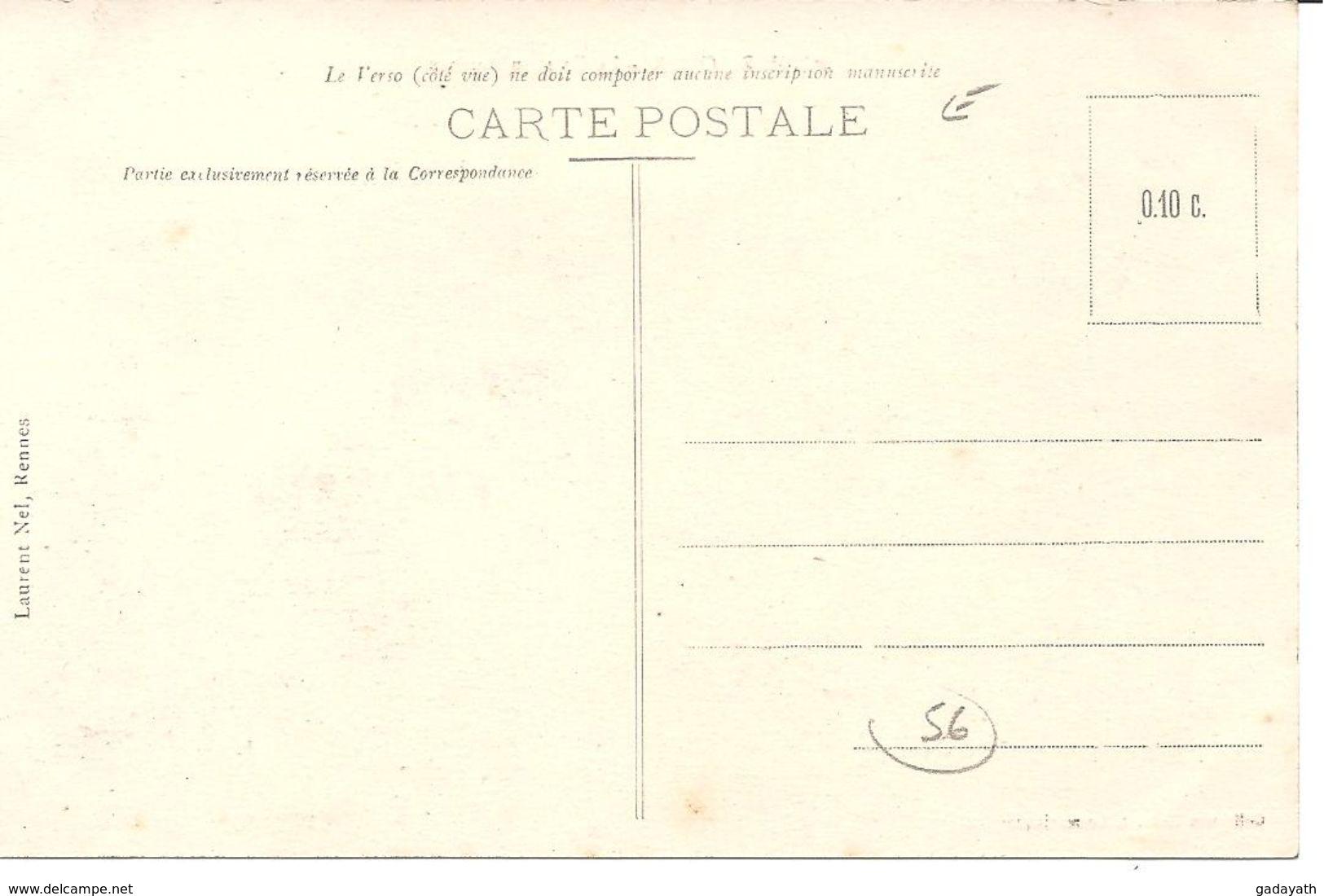 LOCMARIAQUER - La Cale Du Guilvin . Collection Cadoret - Locmariaquer