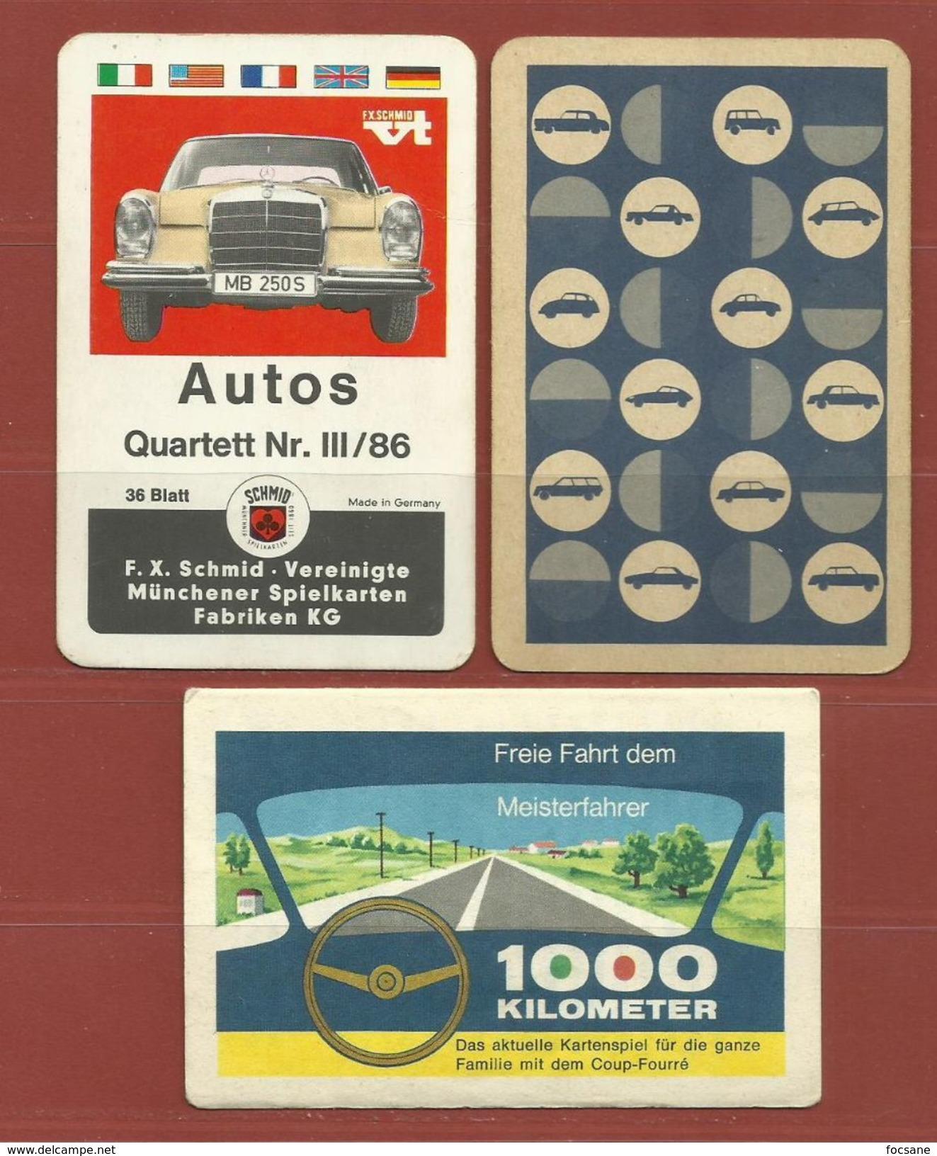 Jeu De Cartes Autos Année 1986 - Autres
