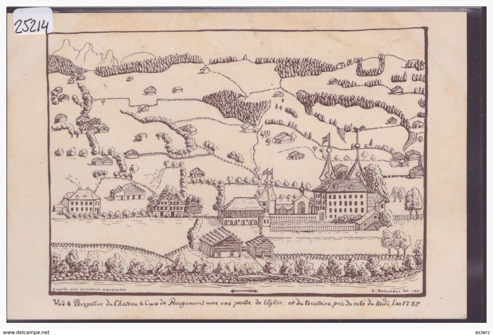 DISTRICT DU PAYS D'ENHAUT - ROUGEMONT EN 1785 - TB - VD Vaud