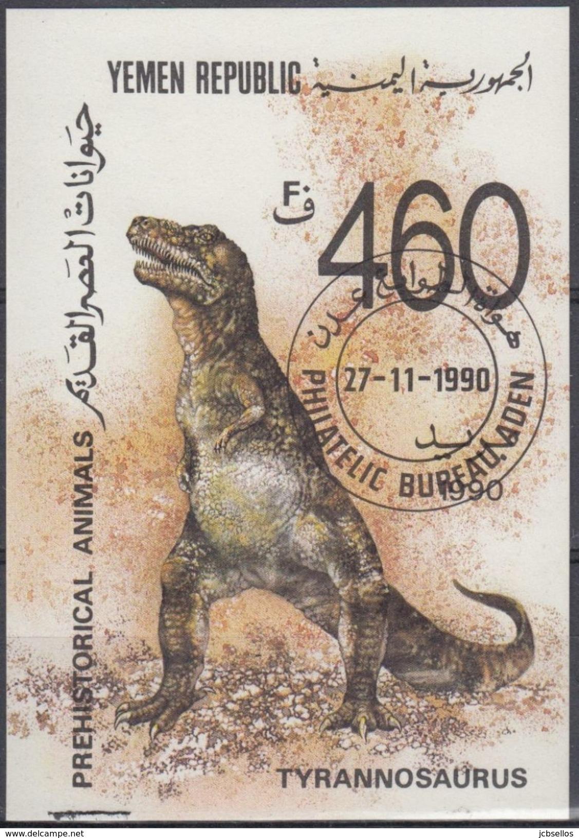 YEMEN 1990 Nº HB-3 USADO - Yemen