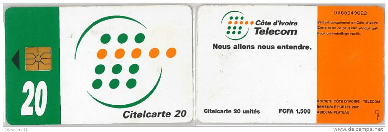 PHONE CARD COSTA D'AVORIO (E11.23.8 - Costa D'Avorio