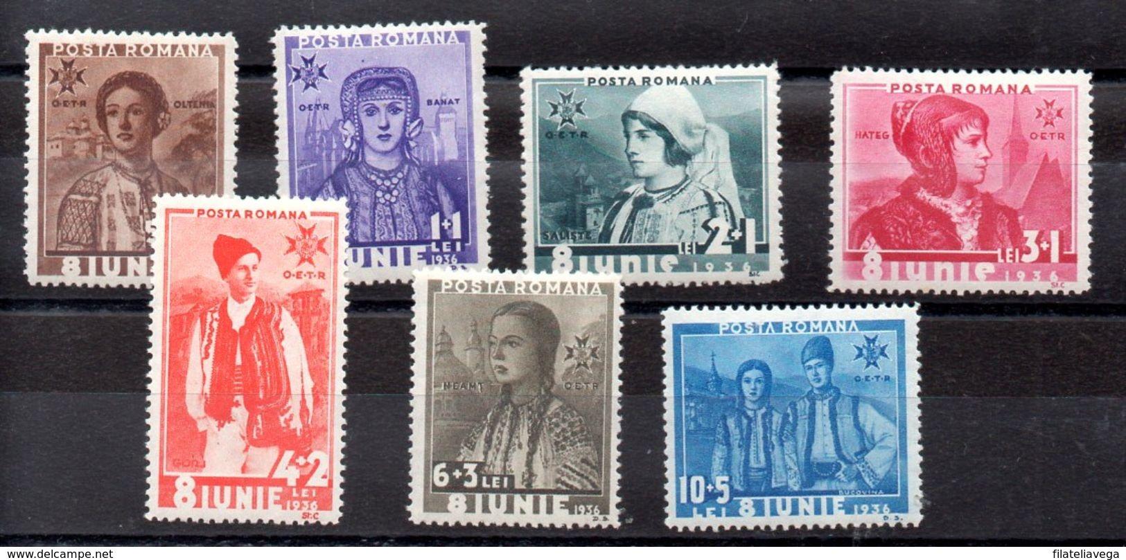 Serie De Rumania Nº Yvert 498/04 (**) - 1918-1948 Ferdinand, Charles II & Michael